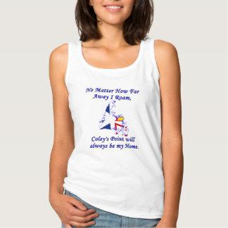 Camiseta Con Tirantes No importa cómo lejos vago por, el punto del Coley