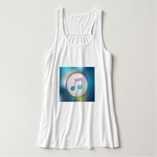 Camiseta Con Tirantes Nota Musical