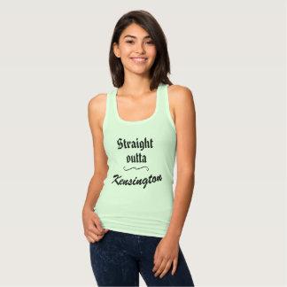 Camiseta Con Tirantes Outta recto Kensington - el tanque de las mujeres