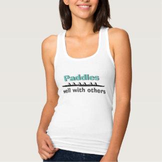 Camiseta Con Tirantes Paletas bien con otras