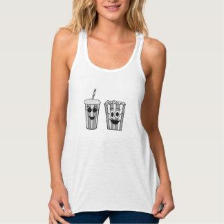 Camiseta Con Tirantes palomitas y soda