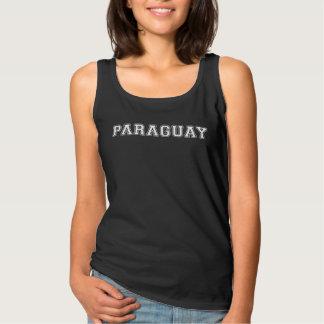 Camiseta Con Tirantes Paraguay