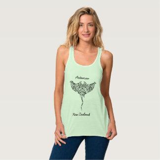 Camiseta Con Tirantes pastinaca de Nueva Zelanda del aotearoa