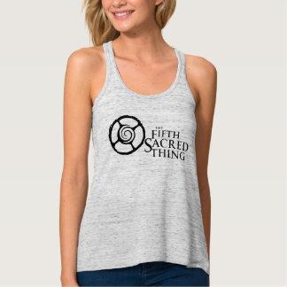Camiseta Con Tirantes Quinto logotipo sagrado