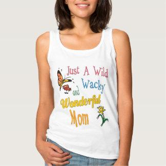 Camiseta Con Tirantes Regalos maravillosos raros salvajes de la mamá