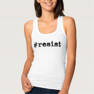 Camiseta Con Tirantes #resist