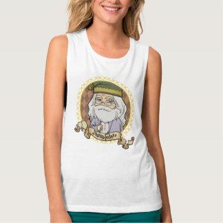 Camiseta Con Tirantes Retrato de Dumbledore del animado