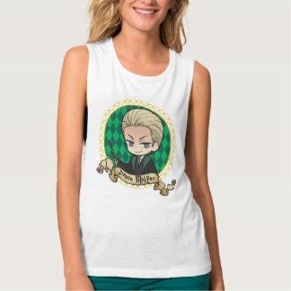 Camiseta Con Tirantes Retrato de Malfoy del Draco del animado