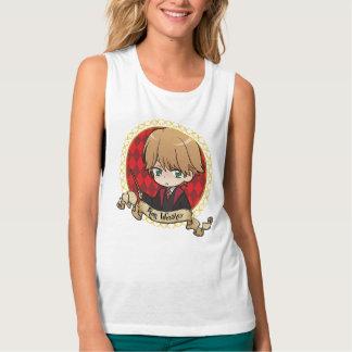 Camiseta Con Tirantes Retrato de Ron Weasley del animado