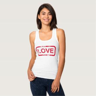 Camiseta Con Tirantes Sello del amor