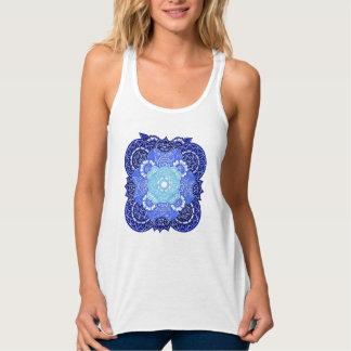 Camiseta Con Tirantes Serenidad entonada azul