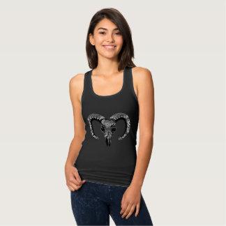 Camiseta Con Tirantes Skull encaje