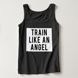 Camiseta Con Tirantes Train Like An Angel