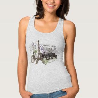 Camiseta Con Tirantes Vintage París