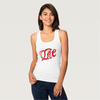 Camiseta Con Tirantes Vive, vivo, vivir la vida, libre, Life