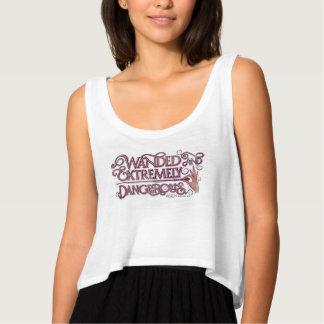 Camiseta Con Tirantes Wanded y gráfico extremadamente peligroso - rosa