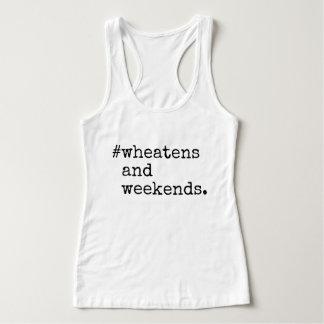 Camiseta Con Tirantes Wheatens y fines de semana