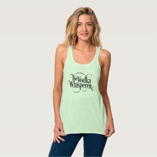 Camiseta Con Tirantes Whisperer de la vodka