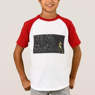 Camiseta Concepto del márketing con el hombre de negocios