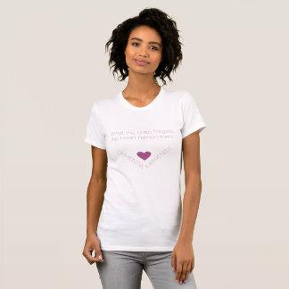 Camiseta Conciencia de la demencia. El corazón recuerda