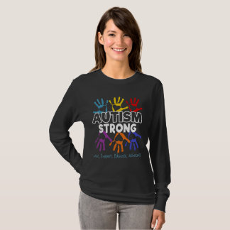 Camiseta Conciencia del autismo - autismo fuerte