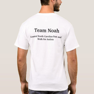 Camiseta Conciencia del autismo de Noah del equipo