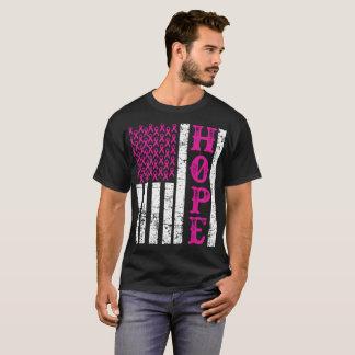 Camiseta Conciencia rosada T del cáncer de pecho de la