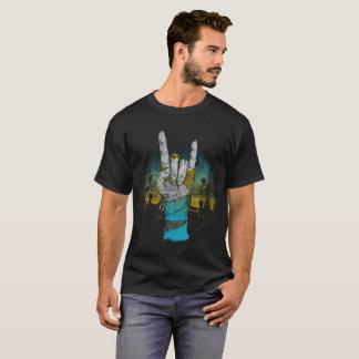 Camiseta Concierto de rock de la música del zombi,