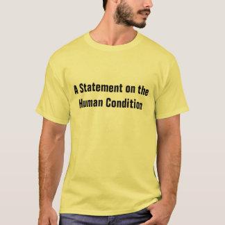 Camiseta condición humana