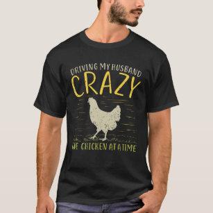 Animales graciosos de pollo Camiseta Unisex Hombres Mujeres Camiseta Chaleco con capucha del béisbol 2296