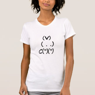 Camiseta Conejito del ordenador