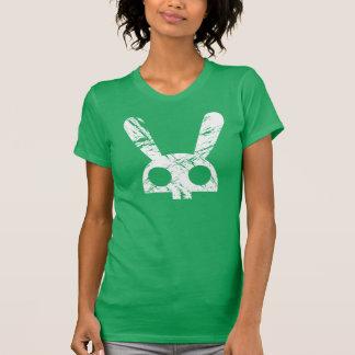 Camiseta Conejito descolorado del cráneo