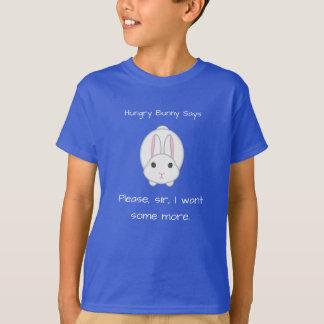 Camiseta Conejito hambriento