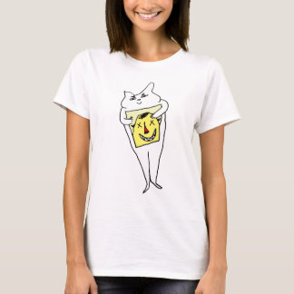 Camiseta Conejo blanco