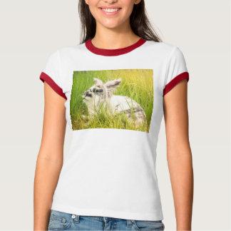 Camiseta Conejo blanco y negro