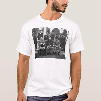 Camiseta Conferencia Roosevelt Stalin Churchill 1945 de