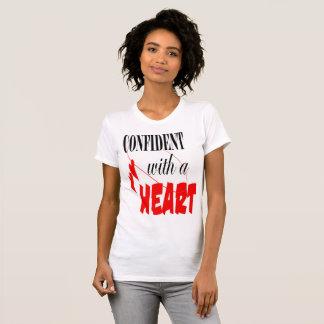 Camiseta confiado con un corazón