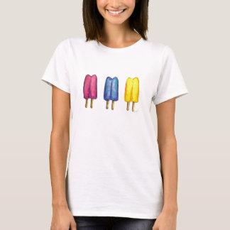 Camiseta congelada estallido gemelo de la
