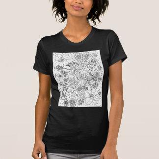 Camiseta Conglomeración de flores