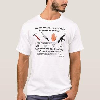 Camiseta Conjetura que arma (impresión negra)