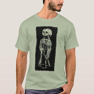 Camiseta Conjoined del esqueleto del feto
