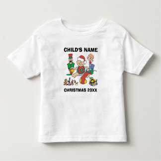 Camiseta conocida del año del navidad del niño
