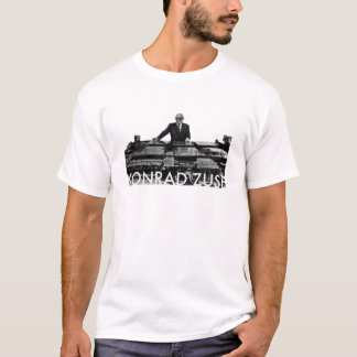 Camiseta Conrado Zuse (fondo ligero)