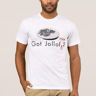 Camiseta conseguida de Jollof