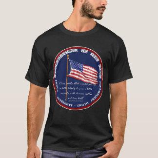 Camiseta Conservador a la base - libertad Ben Franklin