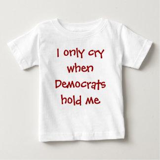 Camiseta conservadora divertida del bebé