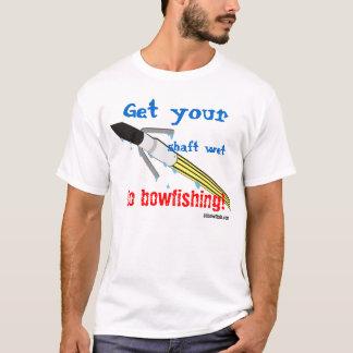 Camiseta Consiga su eje mojado