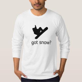 "CAMISETA ""CONSIGUIÓ NIEVE?"" SNOWBOARD DIVERTIDA DEL"