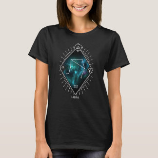 Camiseta Constelación del libra y símbolo del zodiaco