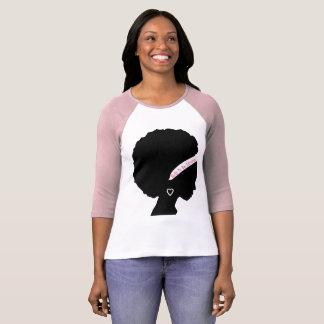 Camiseta Construido para ser el T de las mujeres fuertes